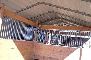 horse stall walls
