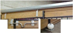 Horse Stall Sliding Door Hardware Kit