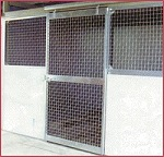 mesh horse stall systems