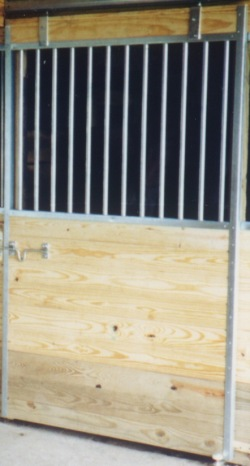 Galvanized Horse Stall Door