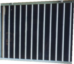 Galvanized Stall Grill Section