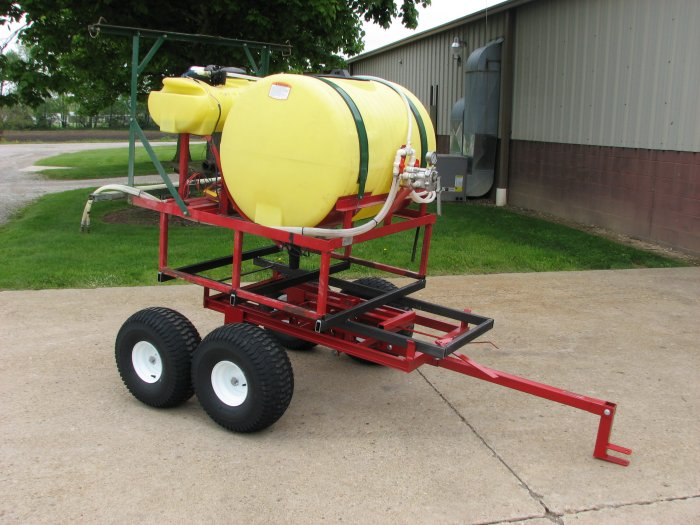 water tank trailer sprayer